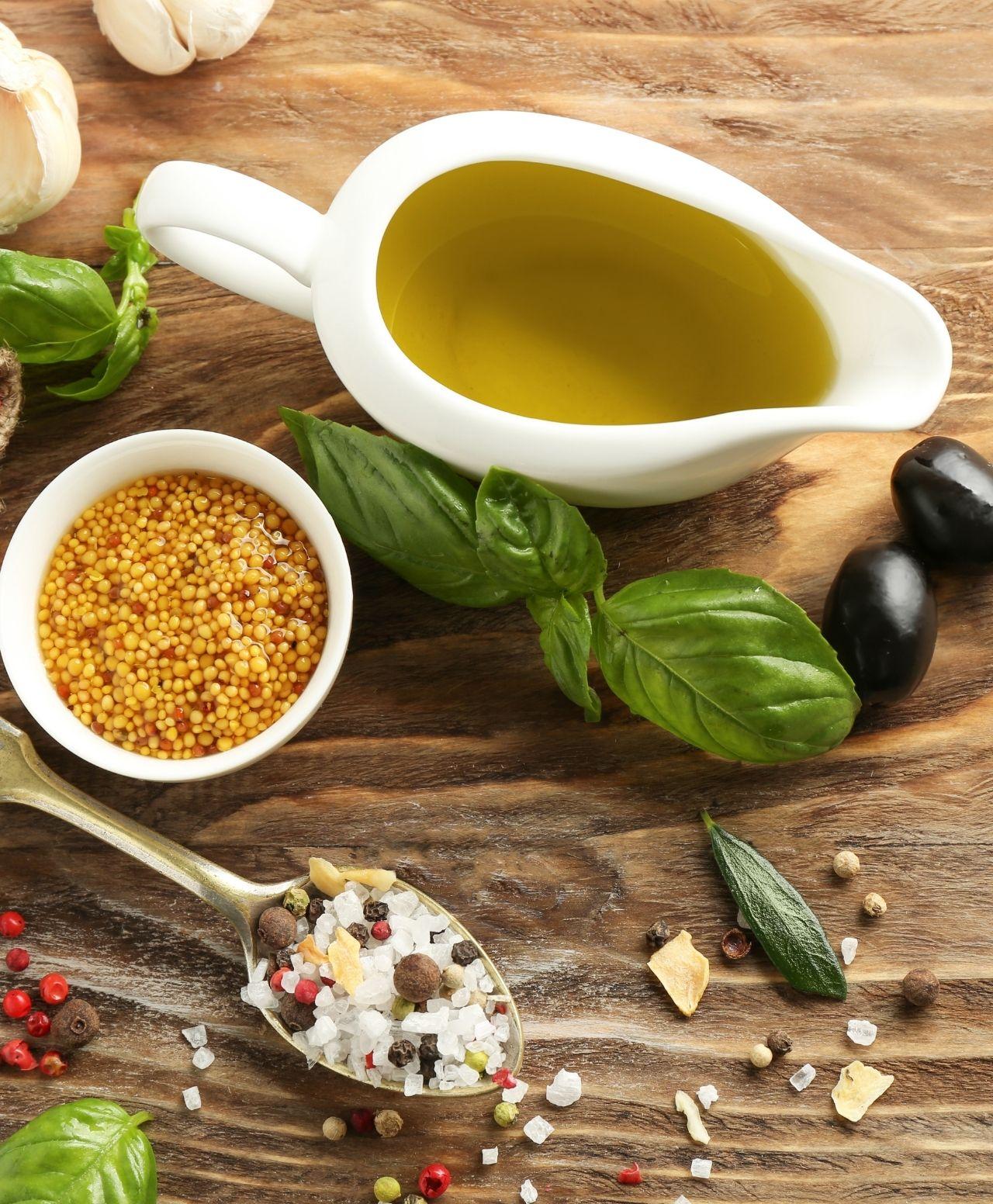 huile épices export